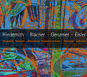 Works for Winds by Hindemith, Blacher, Genzmer, Eisler / Hindemith Quintett; Alexander Liebreich, Münchener Kammerorchester