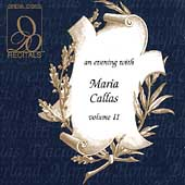 Recitals - An Evening with Maria Callas Vol II