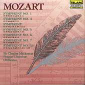 Classics - Mozart: Symphonies 1, 4, 5, 6, 7 & 55 / Mackerras
