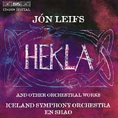 Leifs: Hekla and Other Orchestral Works / Shao, Iceland SO