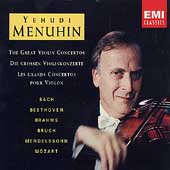 The Great Violin Concertos / Yehudi Menuhin