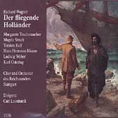 Wagner: Der Fliegende Holl&auml;nder / Leonhardt, Teschemacher