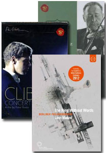 3 DVD Video Deal: Includes Ring without Words / Van Cliburn, Concert Pianist / Jascha Heifetz in Performance [3 DVD]