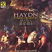 Haydn: String Quartets / Delm&#233; Quartet