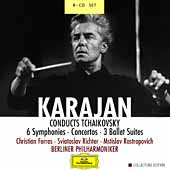 Karajan Conducts Tchaikovsky / Ferras, Berlin PO, et al