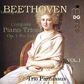 Beethoven: Piano Trios Vol 1 - Op 1 no 1 & 2 /Trio Parnassus