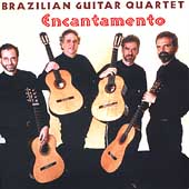 Encantamento - works by Miranda, Santoro, Mignone, Oswald, Guarnieri / Brazilian Guitar Quartet