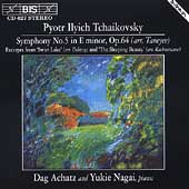 Tchaikovsky: Symphony no 5, Swan Lake, etc / Achatz, Nagai