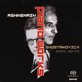 Shostakovich: Works for Solo Piano / Vladimir Ashkenazy
