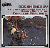 Rachmaninov: Prince Rostislav, Capriccio, etc / Svetlanov