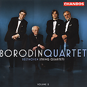 Beethoven: String Quartets Vol 5 / Borodin Quartet