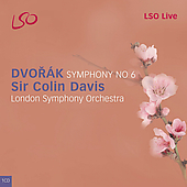 Dvorak: Symphony no 6 / Davis, London SO