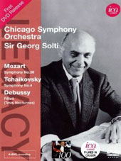 Legacy: Sir Georg Solti and the Chicago Symphony - Mozart: Symphony No.39; Tchaikovsky: Symphony No.4; Debussy: Fetes [DVD]