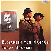 Tonight - Kurt Weill / Elisabeth von Magnus, Jacob Bogart