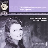 Mahler, Handel, etc / Lieberson, Vignoles