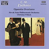 Ziehrer: Operetta Overtures / Pollack, Slovak State PO