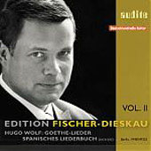 Edition Fischer-Dieskau Vol 2 - Hugo Wolf: Goether Lieder, Spanish Liederbuch (Excerpts)