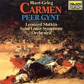 Classics - Bizet: Carmen Suite;  Grieg: Peer Gynt / Slatkin