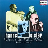 Eisler: Orchestral Pieces / Zimmer, Deutsches SO Berlin