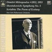 Shostakovich: Symphony No. 5; Scriabin: The Poem of Ecstasy