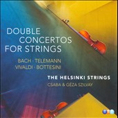 Bach, Telemann, Vivaldi, Bottesini: Double Concertos for Strings