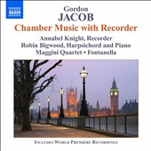 Jacob Gordon: Chamber Music with Recorder