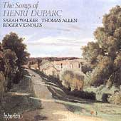 Duparc: Songs / Sarah Walker, Thomas Allen, Roger Vignoles