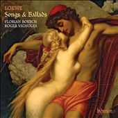 Loewe: Songs & Ballads / Florian Boesh, Roger Vignoles, piano
