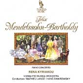Mendelssohn: Works for Piano & Orchestra / Rena Kyriakou