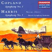 Copland, Harris: Symphony no 3 / J&auml;rvi, Detroit SO