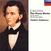 Chopin: The Piano Works / Vladimir Ashkenazy