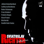 Sviatoslav Richter Collection - Bach, Beethoven, Schumann, Schubert, Chopin, Franck, Bartok et al. / Sviatoslav Richter, piano