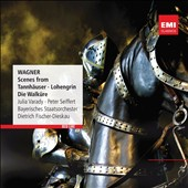 Wagner: Scenes from Tannhauser, Lohengrin & Die Walkure / Julia Varady, Peter Seiffert