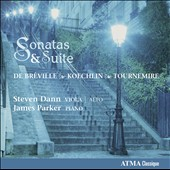 Sonatas & Suites - works by Bréville, Koechlin; Tournemire / Steven Dann, viola; James Parker, piano
