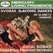 Dvorák: Slavonic Dances Op 46 & 72 / Doráti, Minneapolis SO
