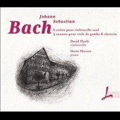 J.S. Bach: 6 Suites for cello solo; 3 Sonatas for cell & piano / David Harlé, cello; Daria Hovora, piano