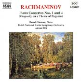 Rachmaninov: Piano Concertos no 1 and 4, etc/ Glemser, Wit
