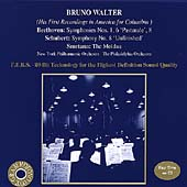 Beethoven: Symphonies Nos. 1&6; Schubert: Symphony No. 8; Smetana: The Moldau / Walter, NY Philharmonic (Walter's first recordings in America for Columbia)