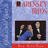 Arensky: Piano Trios no 1 & 2 / New Arts Trio
