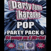 Karaoke: Party Tyme Karaoke: Pop Party Pack, Vol. 6 [Box]