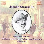 J. Strauss Jr.: 100 Most Famous Waltzes Vol 4