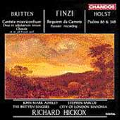 Britten, Finzi, Holst: Choral Works / Hickox, et al