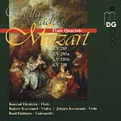 Mozart: Flute Quartets / H&uuml;nteler, Kussmaul, Dieltiens, etc