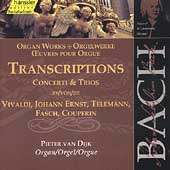 Edition Bachakademie Vol 95 - Organ Works - Transcriptions