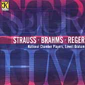 Strauss, Brahms, Reger / Graham, National Chamber Players