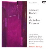 Brahms: German Requiem / Bernius, Borchert, Volle, et al