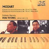 Mozart: Piano Concerti no 22 & 24 / Fou Ts'ong, Varsovia