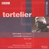 Schumann, Hindemith: Cello Concertos / Tortelier, Dorati