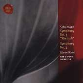 Classic Library - Schumann: Symphonies no 3 & 4 / Wand