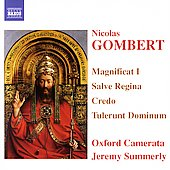 Gombert: Magnificat I, etc / Summerly, Oxford Camerata